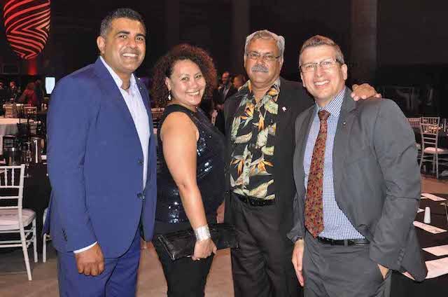 Justin Mohamed, Karen Mundine, Uncle Bill Buchanan & Simon Brooks