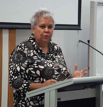 Call for COAG to restore Indigenous funding - Jackie Huggins at RQI general meeting